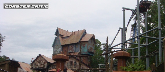 Dollywood - Mystery Mine - Station + Dive Loop
