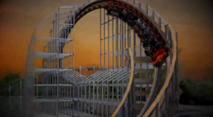 Hades 360 - Mt Olympus Theme Park - 2013 Roller Coaster Feature