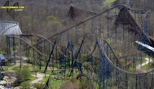 Vortex - Kings Island - CoasterImage