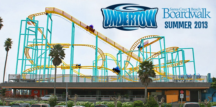 Undertow - Santa Cruz Beach Boardwalk