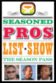 Seasoned Pros List Show Logo