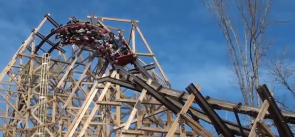 Outlaw Run Opens at Silver Dollar City