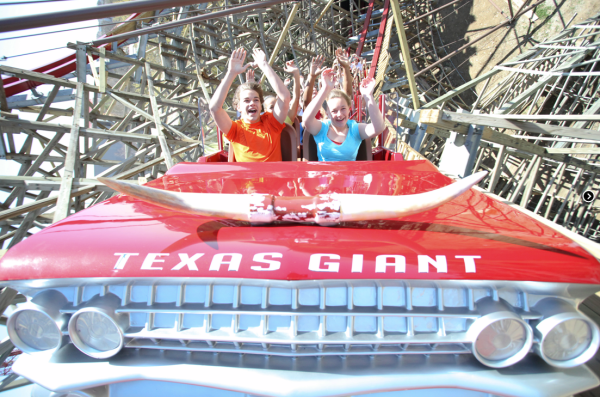 Texas Giant - Six Flags Over Texas - Roller Coaster