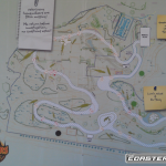 Dinosaurs Alive - Area Map - Carowinds
