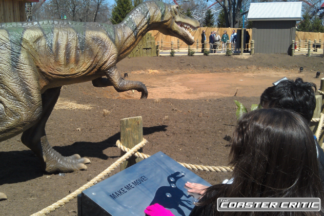 Dinosaurs Alive - Control the Dinosaurs - Carowinds