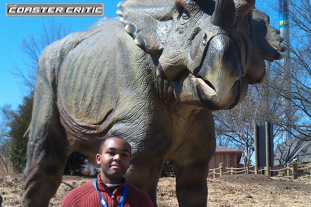 Dinosaurs Alive - Joel and Cera - Carowinds
