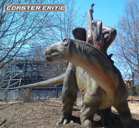 Dinosaurs Alive - Pack Attack  - Carowinds