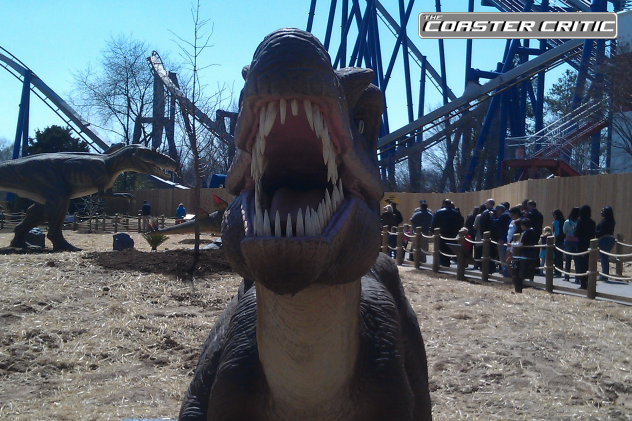 Dinosaurs Alive - Teeth - Carowinds