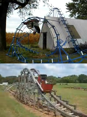 backyard roller coasters what would you build the coaster critic