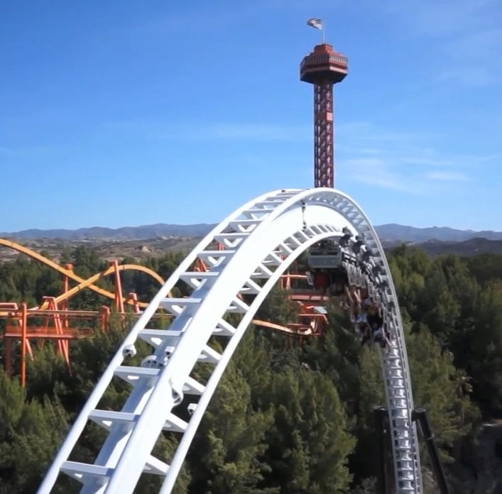 Full Throttle - Six Flags Magic Mountain - Reviews