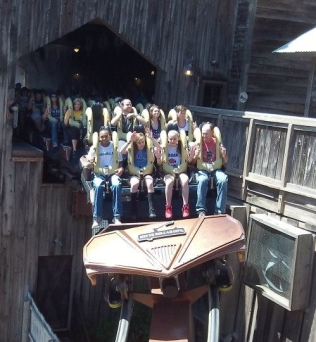 Joel on Wildfire - Silver Dollar City