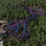 Banshee - Kings Island 2014 Roller Coaster - Full Layout
