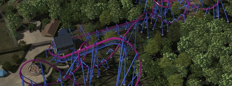 POV Monday – Banshee at Kings Island