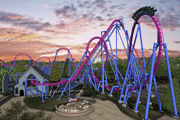 Banshee Roller Coaster - Kings Island