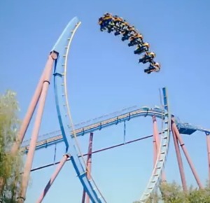 Roller Coaster Loop Gap - YouTube Geek Week