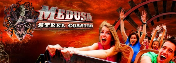 Medusa Steel Coaster - Six Flags Mexico - 2014