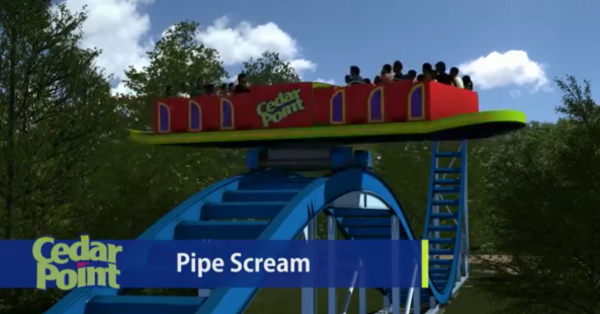 New Ride - Pipe Scream - Cedar Point 2014
