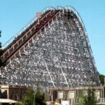 Rolling Thunder Removed - Six Flags Great Adventure - Defunct Coaster