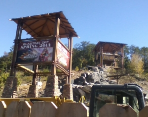 FireChaser Express Construction - Dollywood