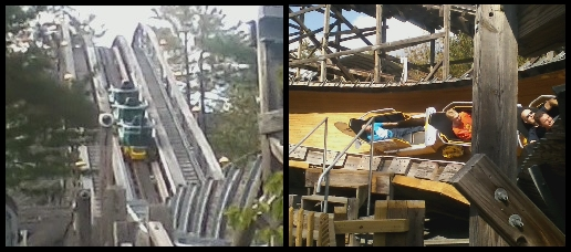 Flying Turns Opens at Knoebels - Lift Hill - Turns