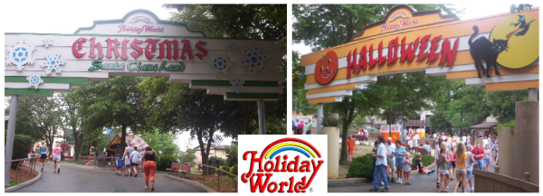 Holiday World - Christmas and Halloween Areas - Cleanest Amusement Parks