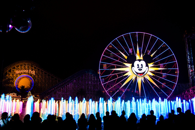 World of Color - Disney California Adventure - Theme Park Shows