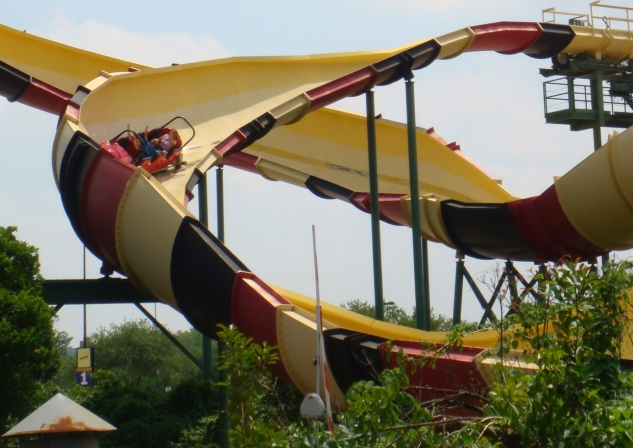 La Vibora - Six Flags Over Texas - Bobsled Roller Coaster