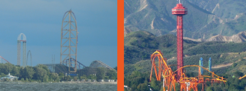 Cedar Point vs Six Flags Magic Mountain