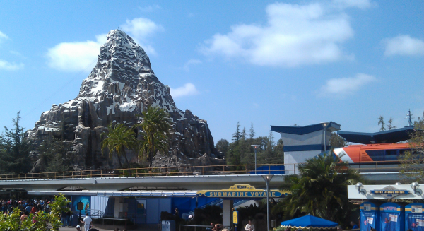 Matterhorn Bobsleds at Disneyland Review