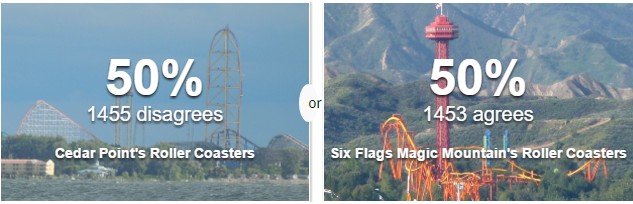 cedar point vs six flags magic mountain - 2014