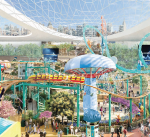 American Dream Miami - Roller Coasters and Theme Park - Proposed