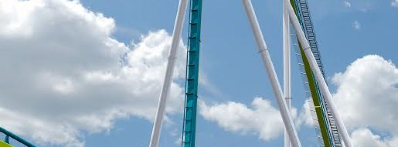 Fury 325 - First Drop - Carowinds 2015 Giga Roller Coaster