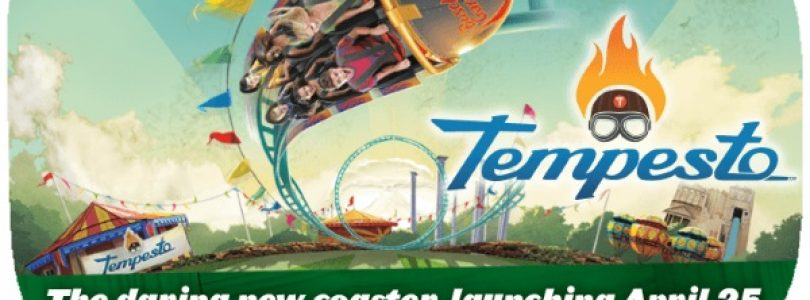 Tempesto Roller Coaster - Busch Gardens Williamsburg