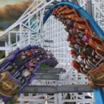 Twisted Colossus - Six Flags Magic Mountain 2015 - Wide