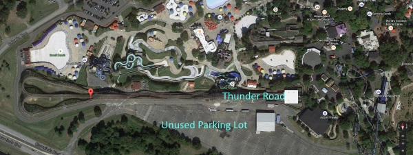 Carowinds Closes Thunder Road - Possible Water Park Expansion