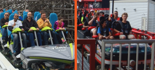 Fury 325 vs Intimidator 305 | Giga Coaster Showdown ...