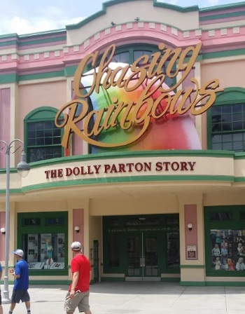 Chasing Rainbows Dolly Parton Museum - Dollywood