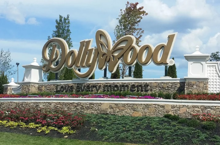 Entrance Sign - Dollywood