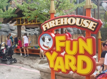 Firehouse Fun Yard Play Area - Dollywood
