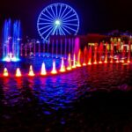 Great Smoky Mountain Wheel and Fountains