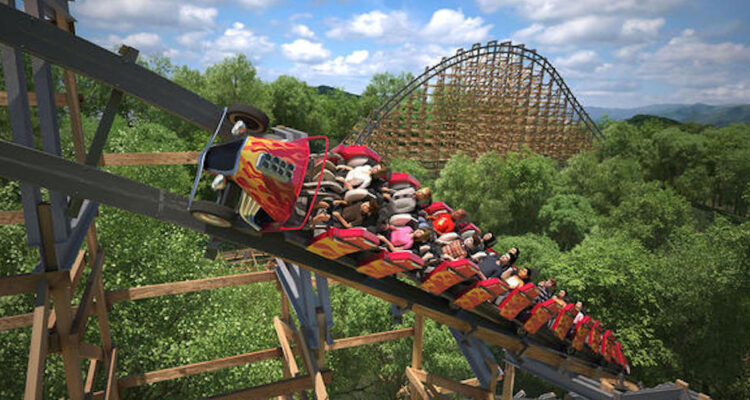 Lightning Rod   Dollywood   Top Roller Coasters