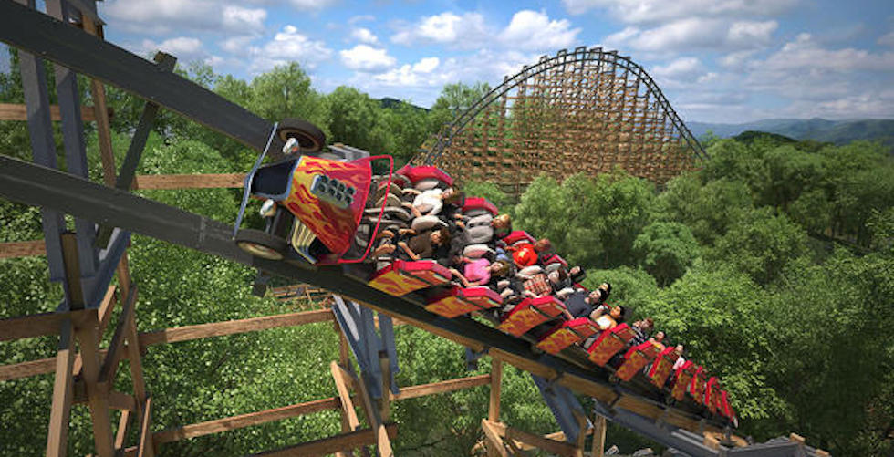 Lightning Rod | Dollywood | Top Roller Coasters