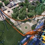 Cedar Point - Valravn Roller Coaster Drop