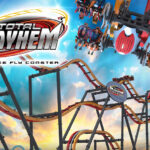 Total Mayhem Roller Coaster - Six Flags Great Adventure - logo