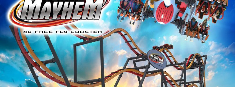 Six Flags Great Adventure's Total Mayhem Roller Coaster