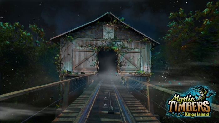 Mystic Timbers Roller Coaster - Kings Island - Whatsintheshed