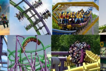 Comic Book Roller Coasters - Round 1