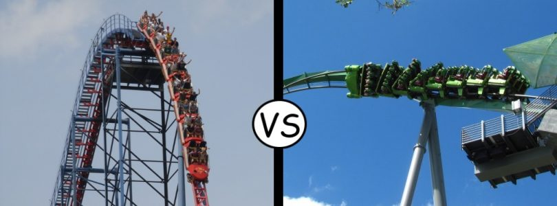 Superman vs Hulk - Comic Book Roller Coasters Final