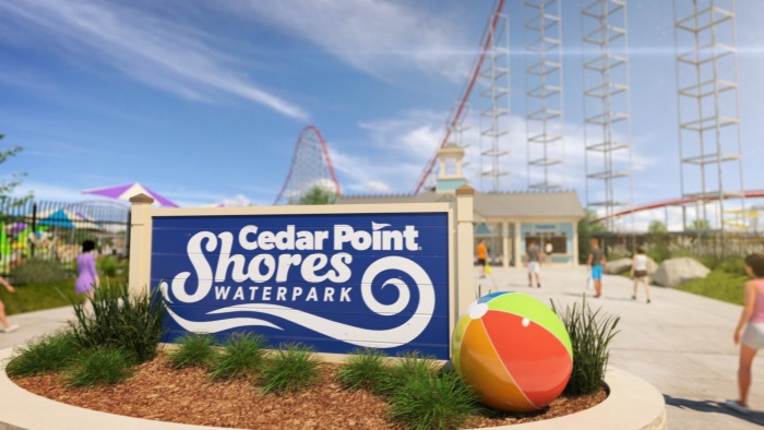 New Cedar Point Shores - Water Park 2017