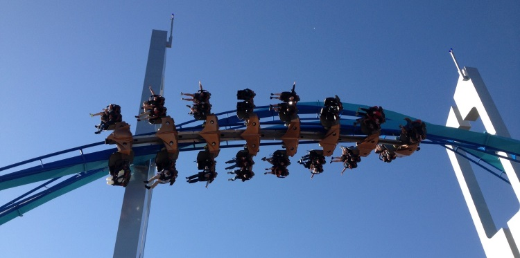 GateKeeper Twists Over Cedar Point Entrance
